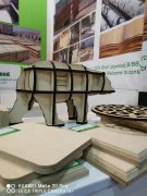 Consmos film faced plywood and birch plywood showed in FutureBuild
